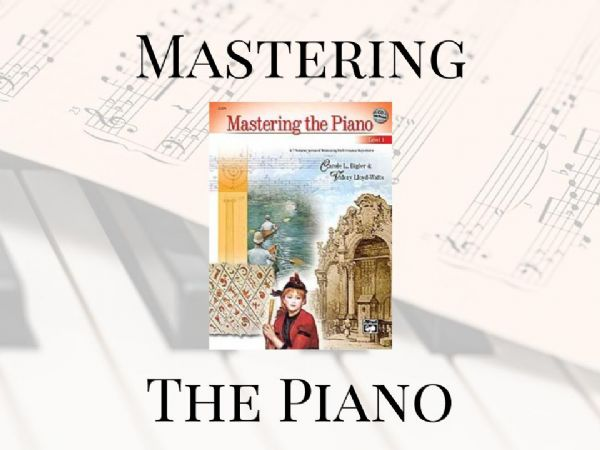 Mastering The Piano